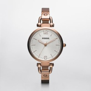 Fossil Georgia Rose Gold watch