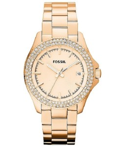 Fossil Retro Traveler Rose