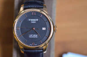 The deep beauty of Tissot's Le Locle Chronometre.